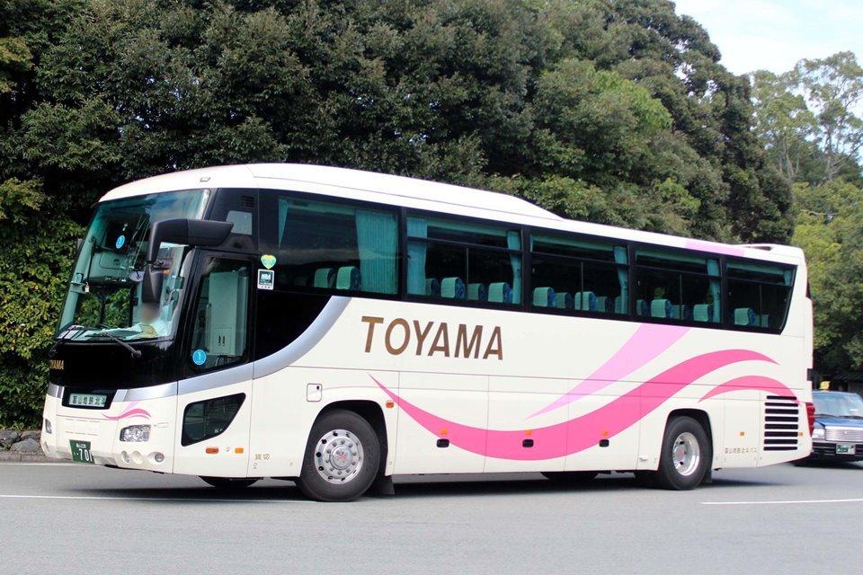 富山地鉄北斗バス う701