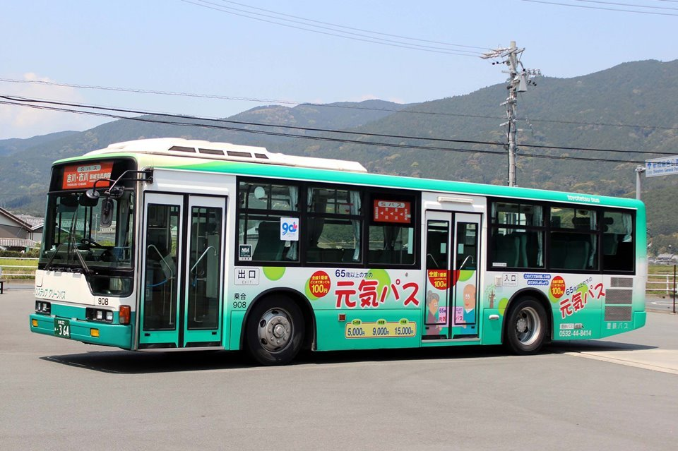 豊鉄バス 908