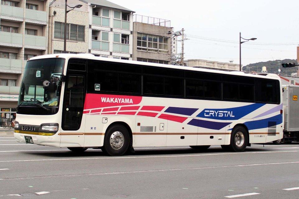クリスタル観光バス か180