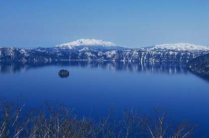 摩周湖と斜里岳その2