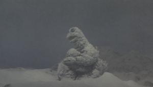 ゴジラの息子 ゴジラ親子雪