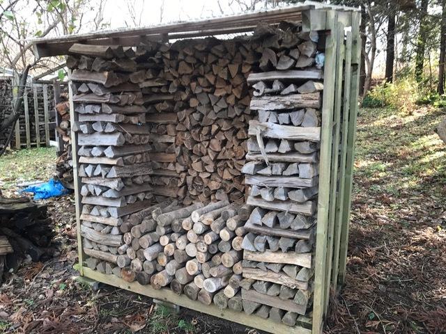 2016冬の薪運び1