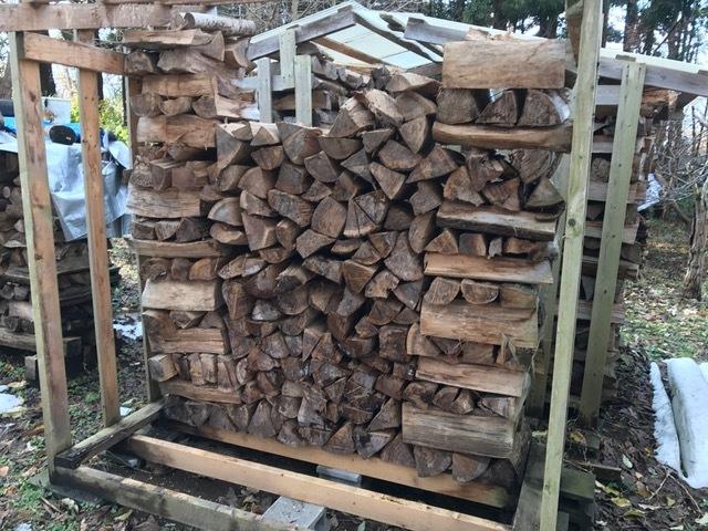 2016冬の薪運び2