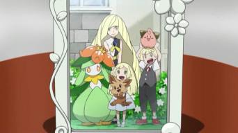 リーリエの家族写真