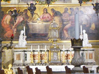 大聖堂の主祭壇