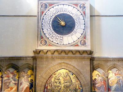 ウッチェッロ作・時計の文字盤