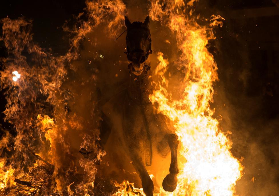 2017 lu 「ルミナリアス」 d 炎の中を馬が駆け抜ける