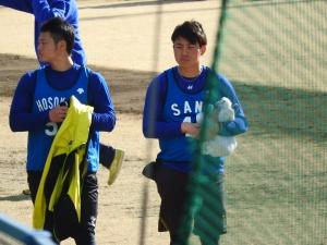 細川君と佐野君!