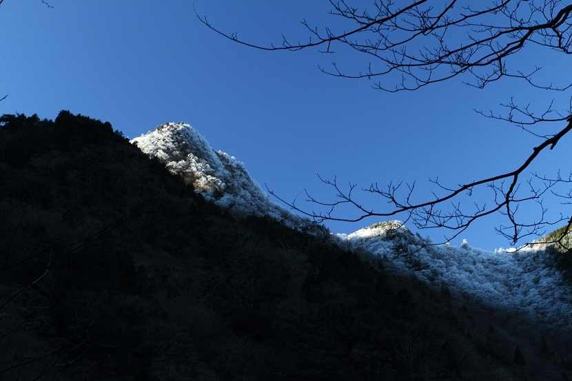 山上ヶ岳、3