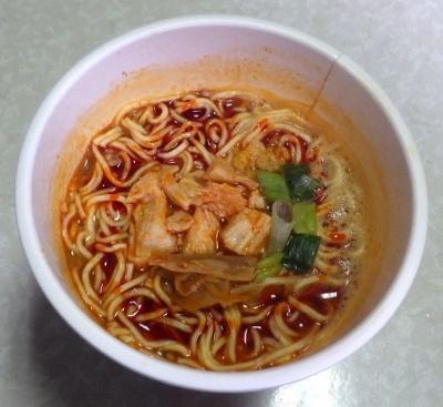 1/30発売 THE NOODLE TOKYO AFURI 限定柚子辣湯麺(できあがり)