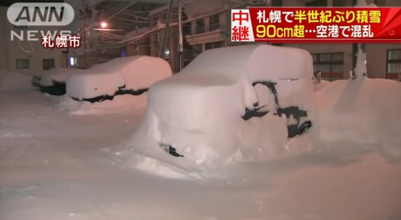北海道ドカ雪クリスマス