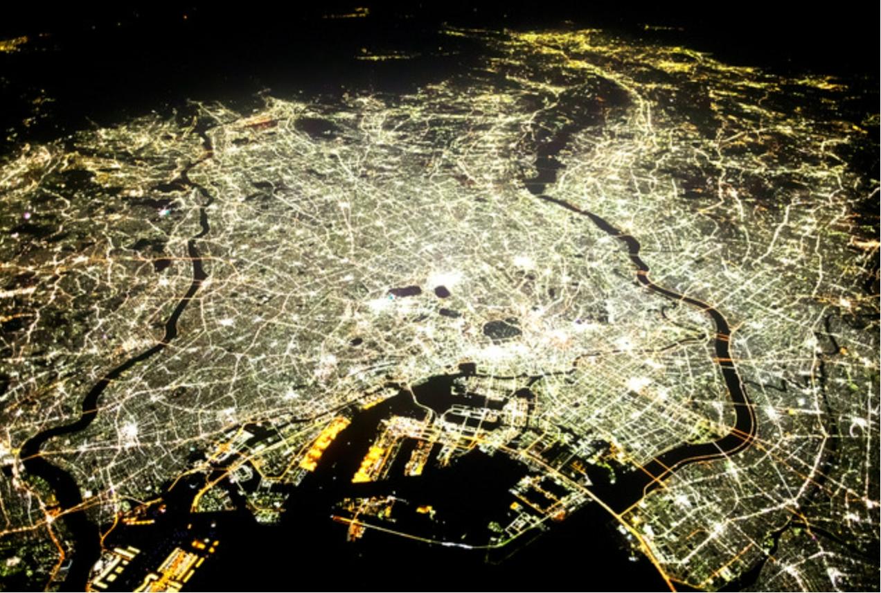 首都圏夜景