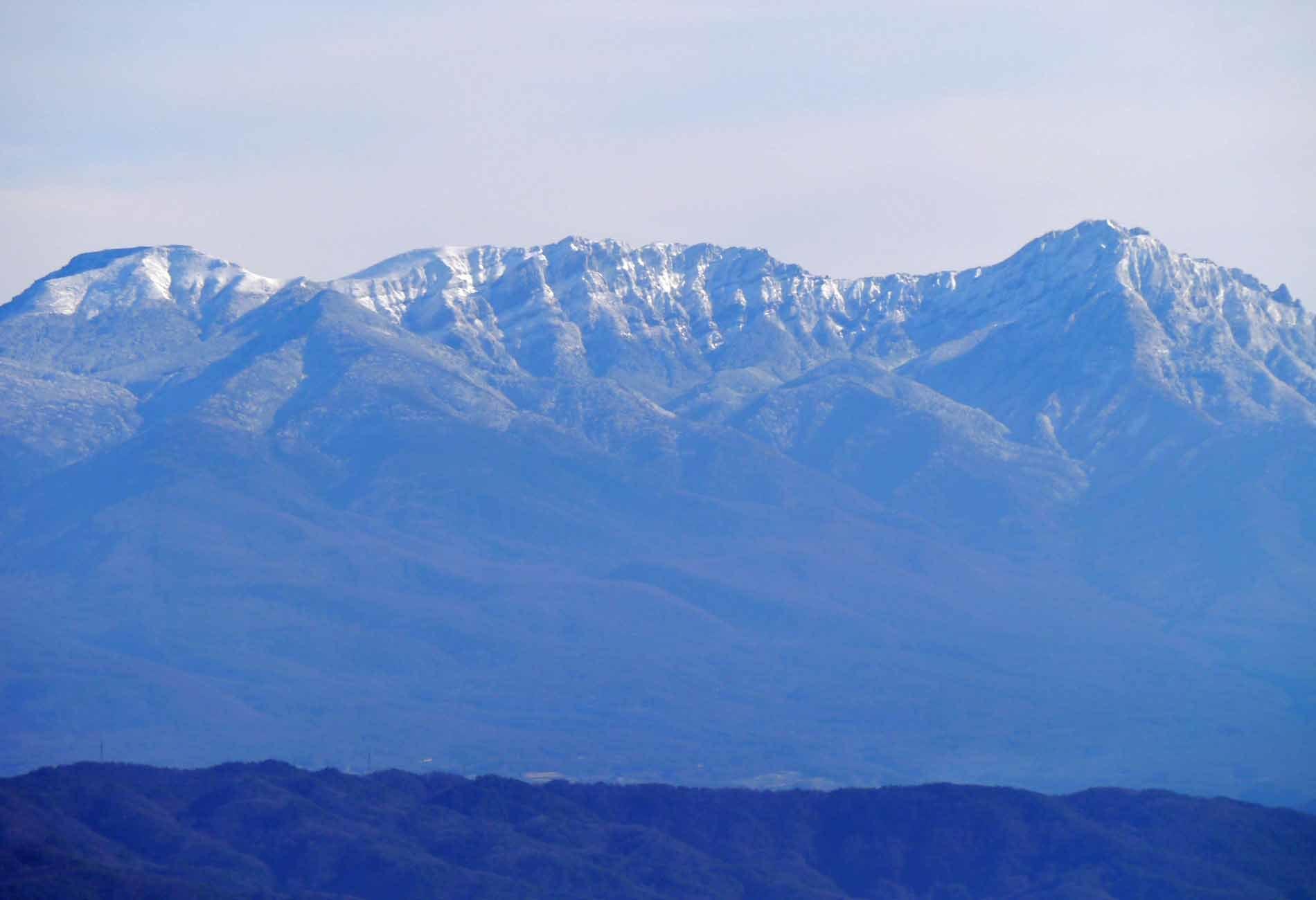 八ヶ岳_161225