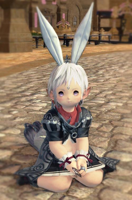 ウサギ耳リスしっぽララ