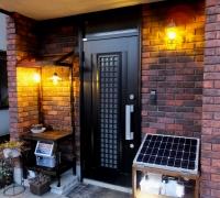 玄関横LED照明032