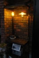 玄関横LED照明033
