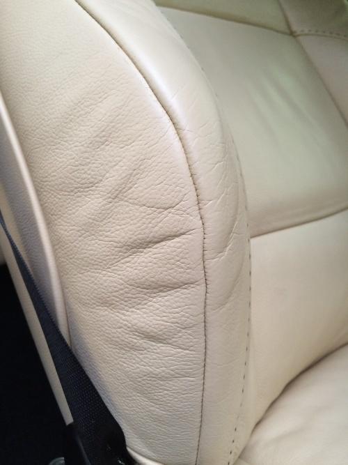 レザーシート 擦れ補修 BMWアルピナ B3ビターボ