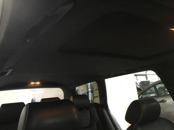 天井 剥がれ 貼り直し アウディ RS6アバント