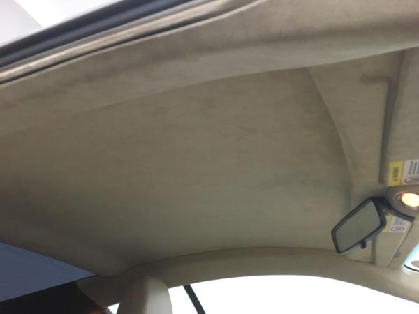 天井貼り直し アストンマーティンDB9