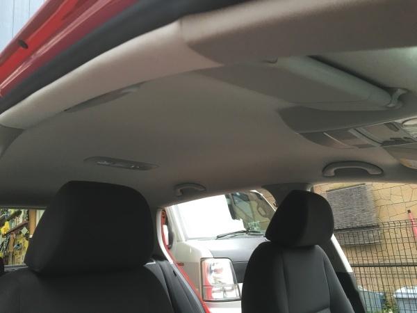 天井張替え+断熱材 VW ゴルフ
