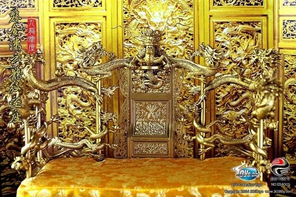 97093529_o2中国秦始皇帝康熙帝等用 九龍龍椅 玉座 レプリカ