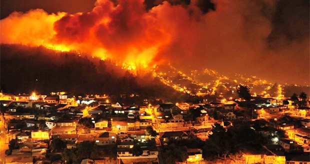 incendio-valparaiso-3Gran incendio en Chile la tragédia en Valparaíso