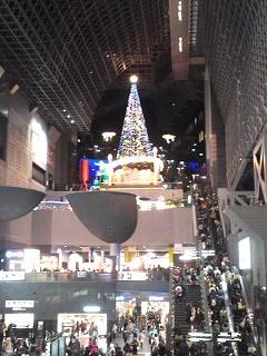 京都駅前ツリー