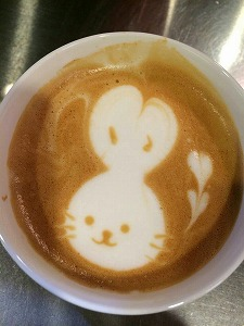 s-カフェ ウサギ