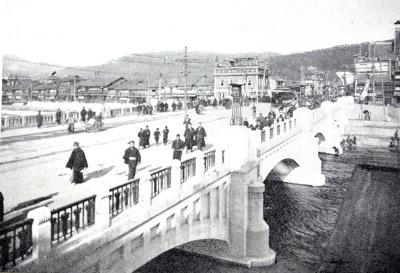 大正初期の四条大橋