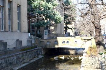 旧立誠小学校の橋