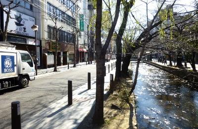 高瀬川と木屋町