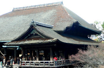 清水寺本堂檜皮葺