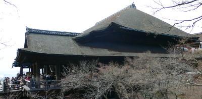 清水寺本堂側面