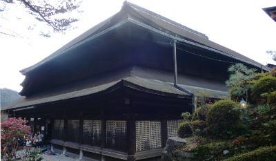 清水寺本堂背面