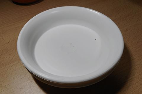 4号鉢の受け皿