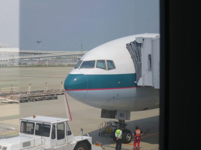 香港 関西空港 キャセイパシフィック