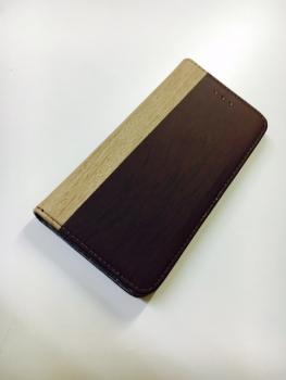 木目柄手帳ケース1