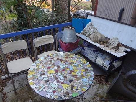 LaLaLaモザイクテーブル