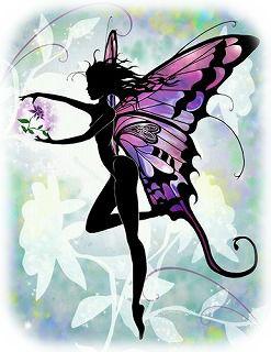 チョウチョの妖精