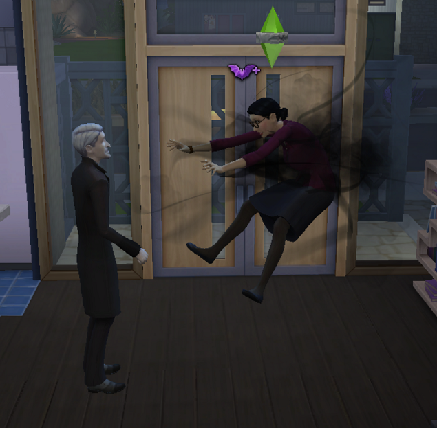 Vampire training