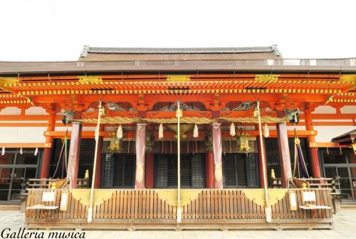 八坂神社。1