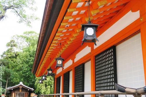 八坂神社。7