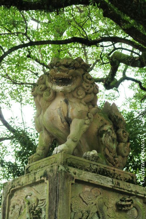 八坂神社 狛犬。5