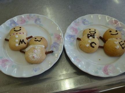 スノーマンクッキー1