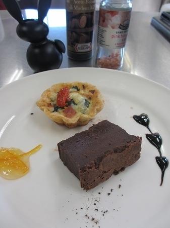 テリーヌショコラとキッシュ 試食2