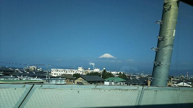 富士川の鉄橋から