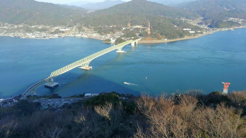 ss-大島大橋 飯の山展望台より