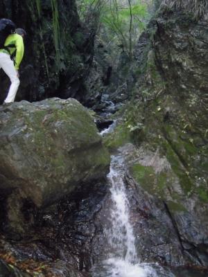 ゴルジュ色々滝161112