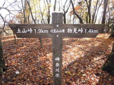 辺室山山頂161122