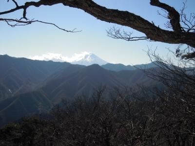富士山161210反射板のある所から
